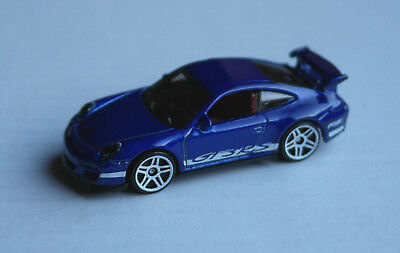 Hot Wheels Porsche 911 GT3 RS blaumetallic Multipack Exclusive Sportwagen HW