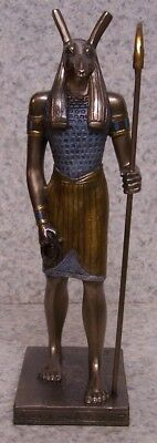 Figurine Statue Ancient Egypt Set Seth God of the Deserts NEW with gift box
