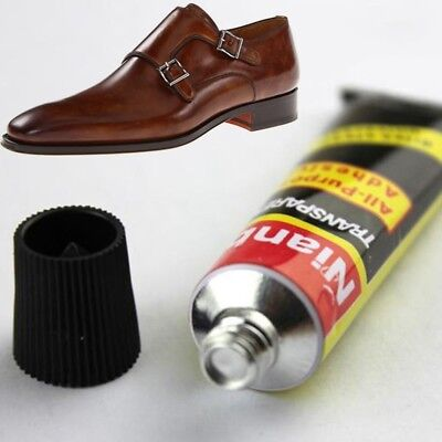 ADHESIVE FIXER LEATHER BEST SHOE REPAIR GLUE SOLE BOOTS HEEL RUBBER 18ml