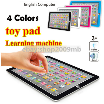 English word Learning Machine Tablet Toys Pad+Game Kids Educational toy Laptop