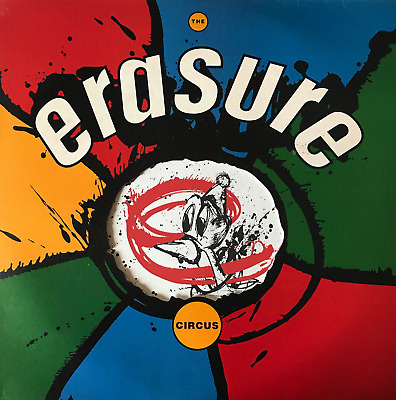 Erasure ‎- The Circus (Lp) (Vg-/Vg-)