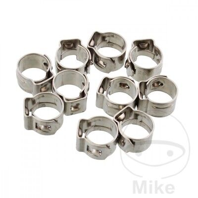 JMP Band Clamp 8.5MM Width 7MM Stainless Steel x10pcs
