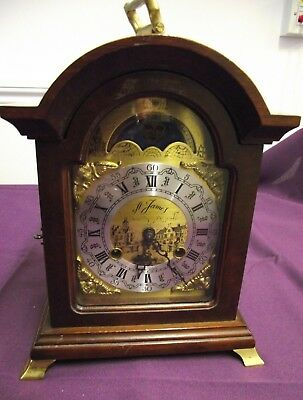 Dutch Bracket Clock ~ St.james Of Holland