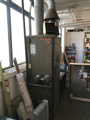 90 KW Powrmatic gas heater with stainless steel flue spares repairs