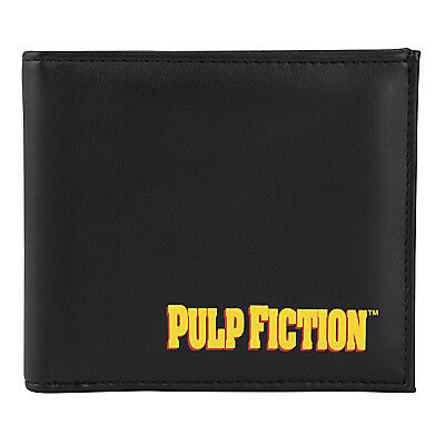 Pulp Fiction Official Gift Mia Wallace Vintage Poster Shot Leather Money Wallet