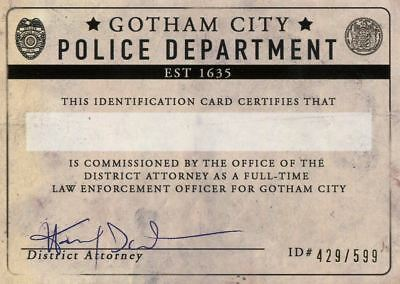 DC Comics Bombshells 2 Membership Chase Card V8 Gotham City Police Department
