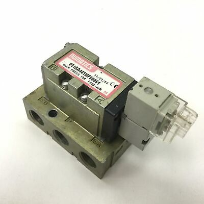 Numatics 031BA441MP00061 Solenoid Valve, 2-Position 5-Port, Pressure: 150psi