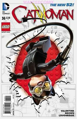 CATWOMAN #36 LEGO VARIANT COVER FAMILY BUSINESS part 2 SELINA GOTHAM CITY NEW 1