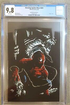 Amazing Spiderman 801 Comicxposure Gabrielle Dell Otto Virgin Variant Cgc 9.8🔥