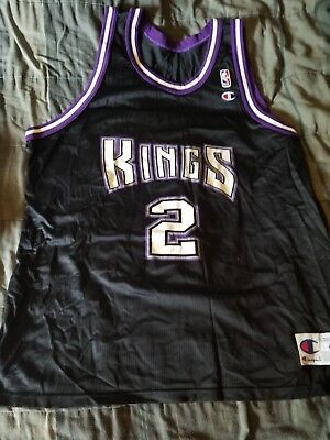 MITCH RICHMOND VINTAGE Sacramento Kings Champion Away Jersey 1990 s ... 098d3e474