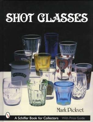 Vintage Shot Glasses Collector ID$ Guide Advertising Bar Brands Places Etc