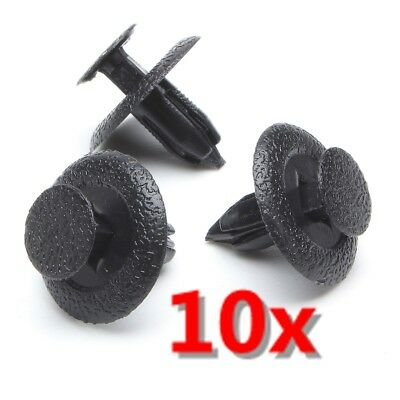 10x Interior Rivet Trim Fastener Clips For Mazda Panels Fascias Lining 6mm Hole