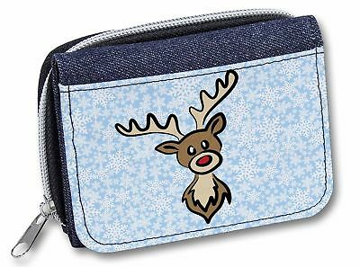 PLA-LO1JW London Tower Bridge Print Girls//Ladies Denim Purse Wallet Christmas G