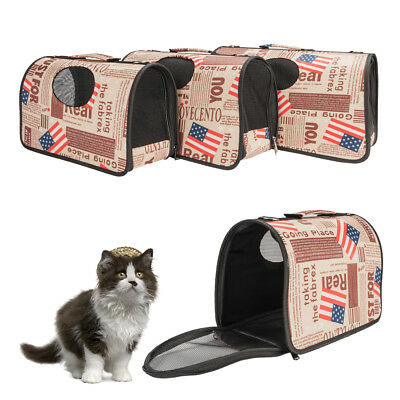 Pet Dog Cat Carrier Travel Bag Handbag Totes Carry and Small Medium Large 3 Size