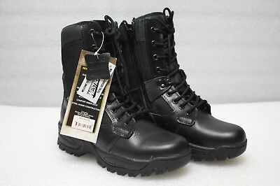 Westrooper Leather Boots Elite Tactical Security Side Zip - Size US5/UK4/EU38
