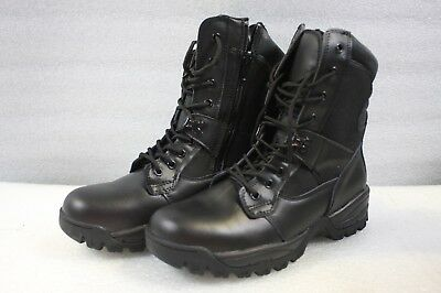 Westrooper Leather Boots Elite Tactical Security Side Zip - Size US12/UK11/EU45