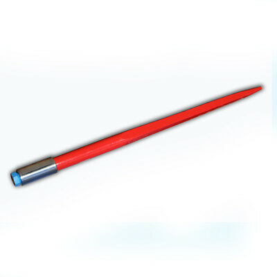 """32"""" Square Hay Bale Spear 1350lbs capacity 1 3/8"""" wide w/ nut and sleeve Conus 1"""