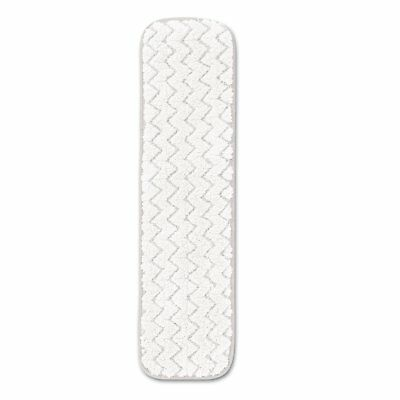 Rubbermaid Commercial Dry Room Pad Microfiber 18-inch Long White