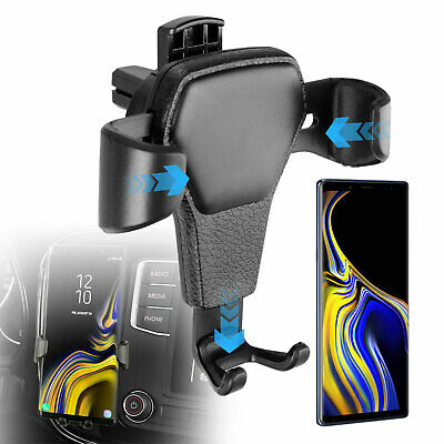 Auto-Clamping Gravity Air Vent Car Mount Holder Cradle for Cell Phone GPS