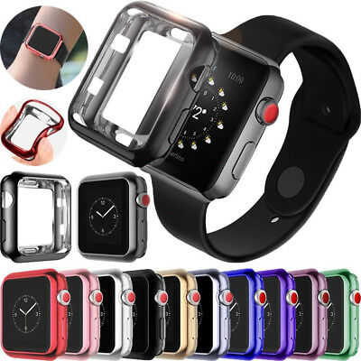 TPU Bumper iWatch Protector Case Cover 40/44 mm For Apple Watch Series 4