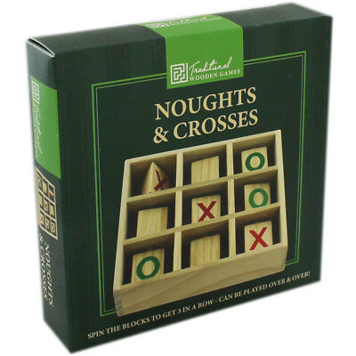 Wooden Noughts and Crosses, , Brand New