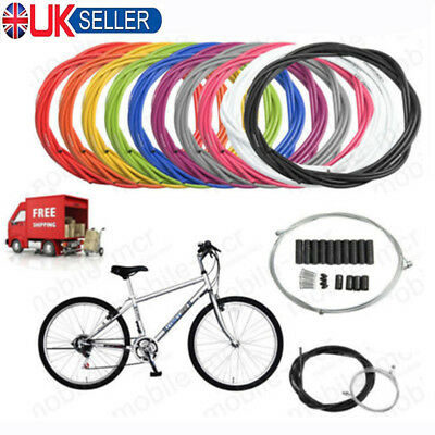 UK Jagwire Kit Brake + Gear Front Rear Inner Outer Bike Cables Bicycle Cable Set