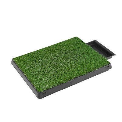 Puppy Pet Potty Training Pee Indoor Toilet Dog Grass Pad Mat Turf Training Tool