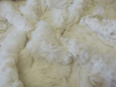 Super Luxury Faux Fur Fabric Material - MICRO IVORY 270