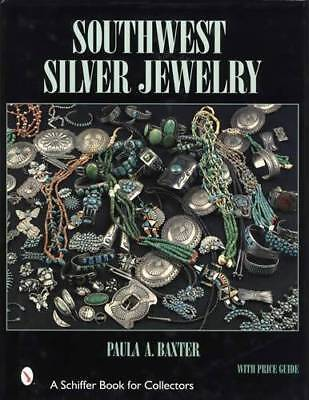 Southwest Silver Jewelry w Price Guide c1840-1950s Navajo Indian Turquoise