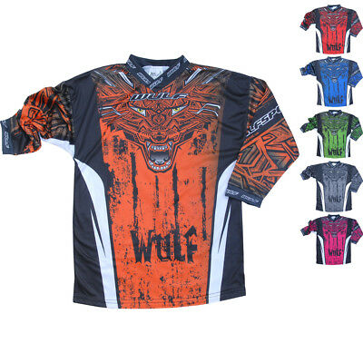 Wulf Aztec Cub Junior Motocross Jersey Kids Childrens MX Top Off Road ATV Shirt