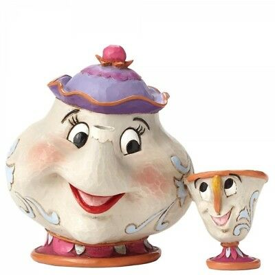 Disney Traditions Mrs Potts & Chip A Mother's Love Figurine - New and Boxed
