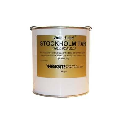 Gold Label Stockholm Tar Thick Antibacterial For Horses Hoof Care Hooves 450G