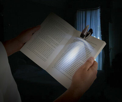 Led Clip-On Book Light 1 Led Torches & Lighting Leisure Silverline 222842