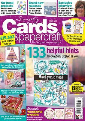 Simply Cards & Papercraft Mag 184 with Scenic Nativity Die &Quick&Easy Christmas