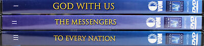 God With Us, The Messengers, To Every Nation Voice Martyrs 3 SET NEW DVDs