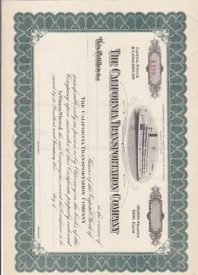 California Transportation Co., Mint (S13856)