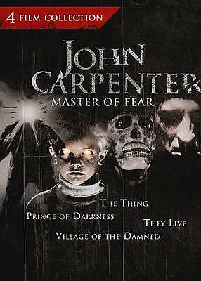 John Carpenter: Master of Fear 4 Film Collection (The Thing / Prince of Darkness