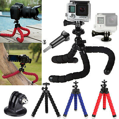 Flexible Mini Tripod Stand Adjustable Octopus Mount For GoPro Hero Camera 5 4 3+