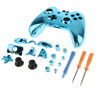 Replacement Full Housing Kit for Xbox One Controller Shell Case Tool Blue
