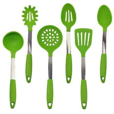Kitchen Utensil Nonstick Silicone Kitchen Utensil Set of 6 Kitchen Cooking Utens