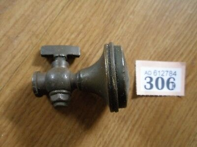 Vintage Brass Rose Tap Fitting