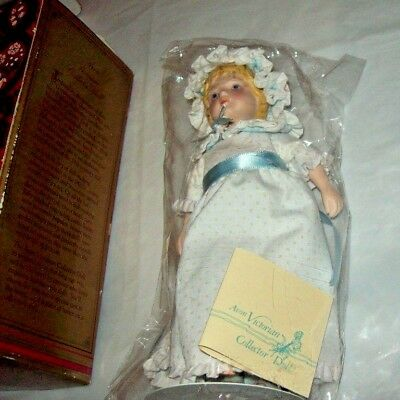 Vintage 1983 Avon ~ Porcelain Victorian Collector Doll ~ with tag,  NEW in box