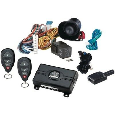 PYTHON 3105P 3105P  Security/Keyless Entry W/.25-Mile Range & 4-Button Remotes