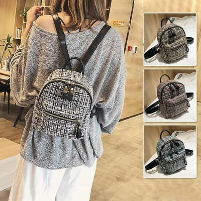 Women s Crochet Small Mini Backpack Rucksack Daypack Travel Bag Purse Cute  New Y 4ad29d2ae6af7