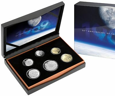 2019 Royal Australian Mint Proof Set 50th Anniversary of the Moon Landing