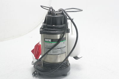 WAYNE CDU1000 1 HP Fully Submersible Cast Iron and Stainless Steel Sump Pump