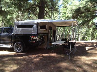 Neon 4x4 Tub Mounted Camper Tent (GO REMOTE WITH YOUR OWN TOYS AND A TRAILER)