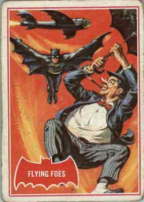 1966 Topps Batman Red Flying Foes #31A