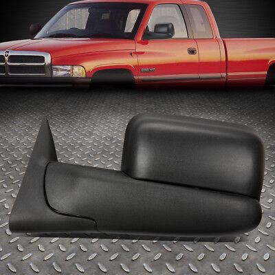 For 02-09 Dodge Ram Left Side Powered Adjustment+Heated+Flip Up Towing Mirror