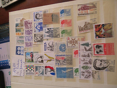 Lot 39 Timbres** France    Annee 1985
